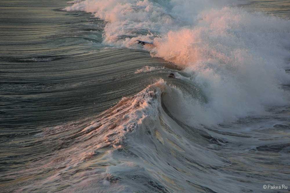 манхэттен бич океан