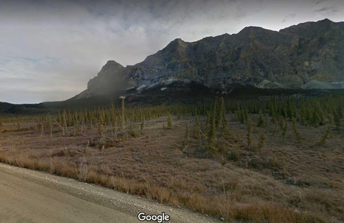 Далтон Хайвэй, Аляска