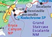 Брайс-Каньон отели на шоссе 12