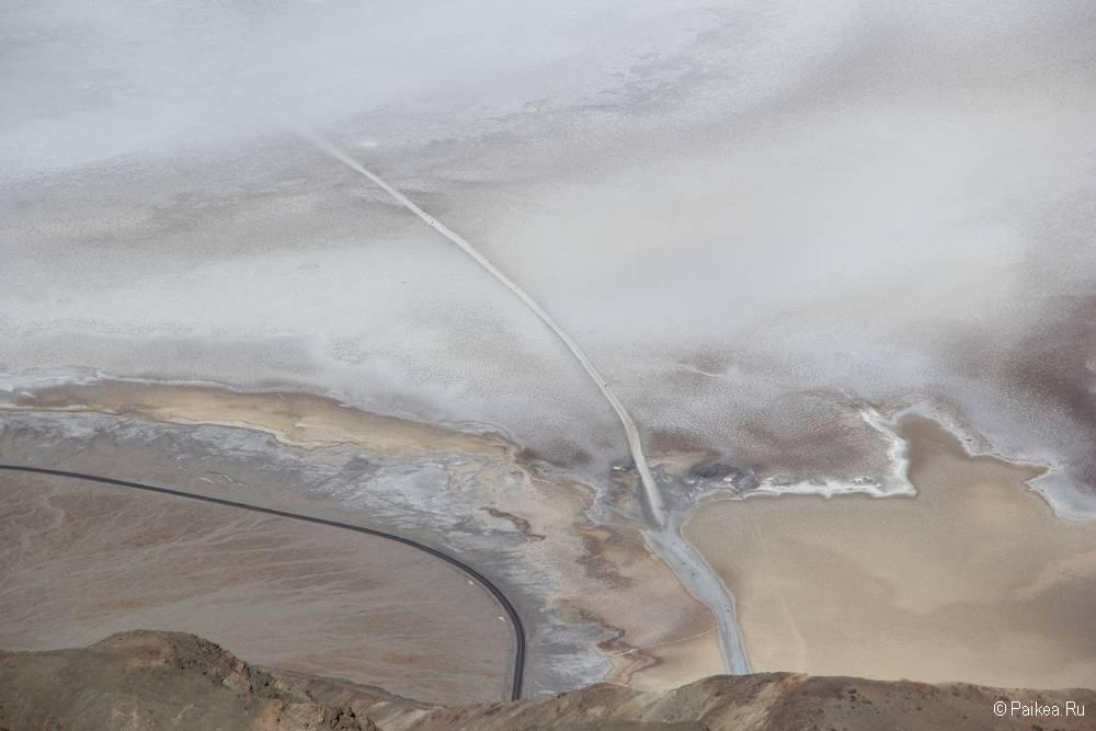 Долина Смерти солончак