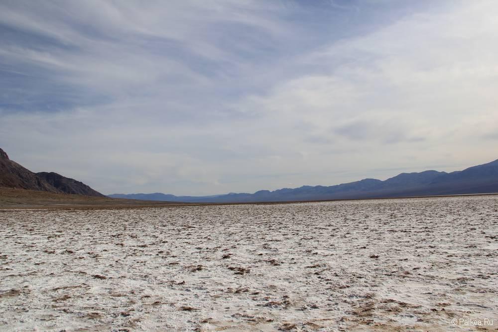 долина смерти солончак бэдуотер