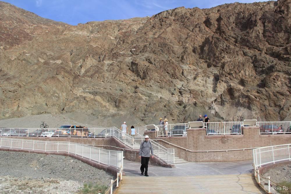 долина смерти уровень моря