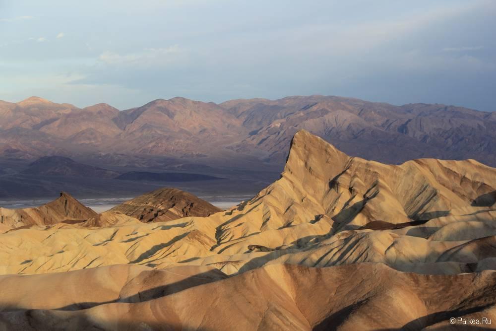 Красивое утро на Забриски Пойнт, Долина Смерти