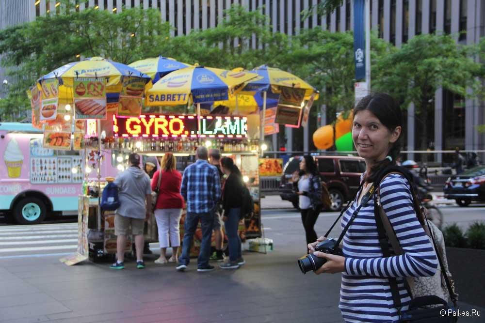 нью-йорк дешевая еда