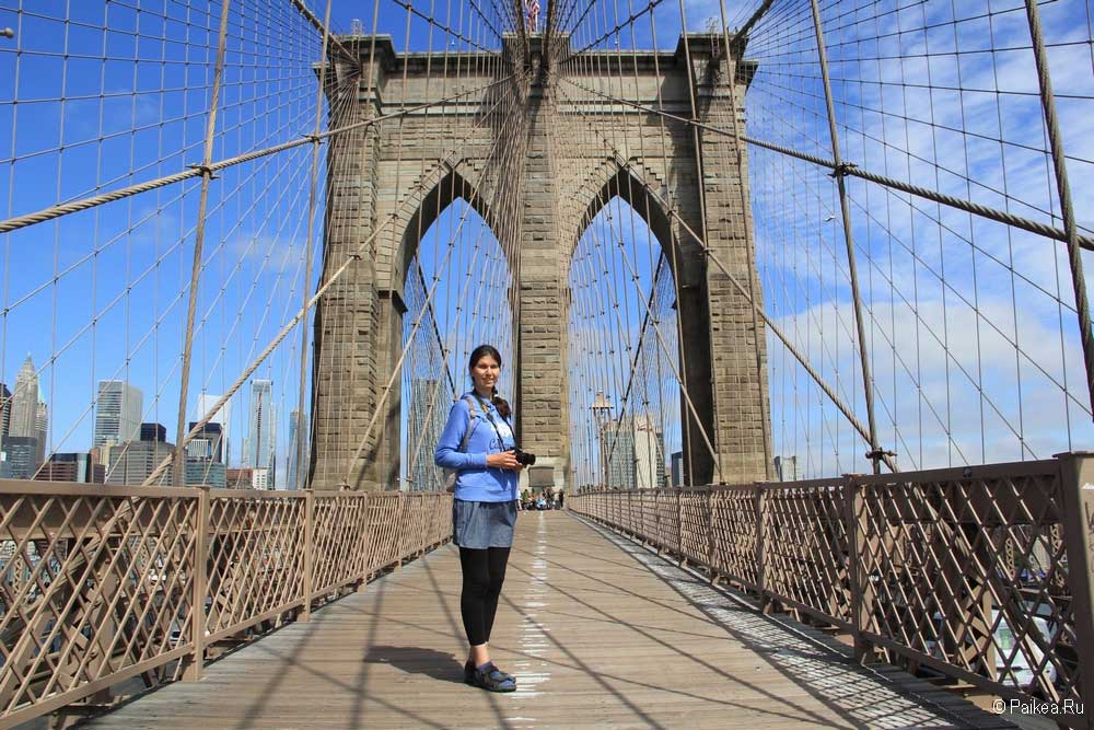 бруклинский мост нью йорк
