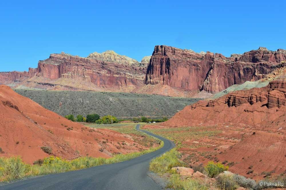 Красивая дорога в США