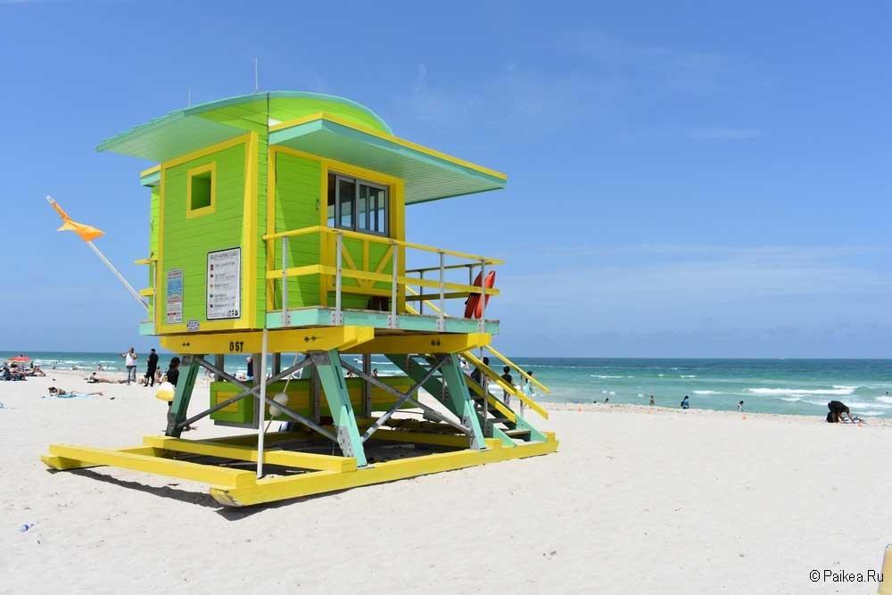 Пляж Майами Саут-Бич