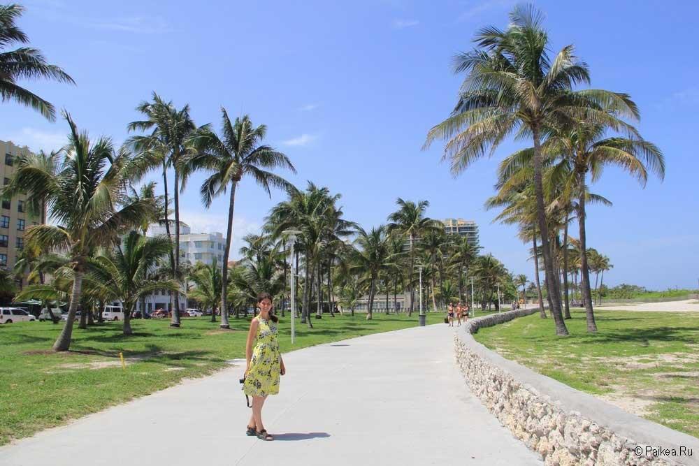 Пляжи Майами США
