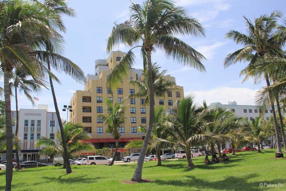Пляжи Майами парк