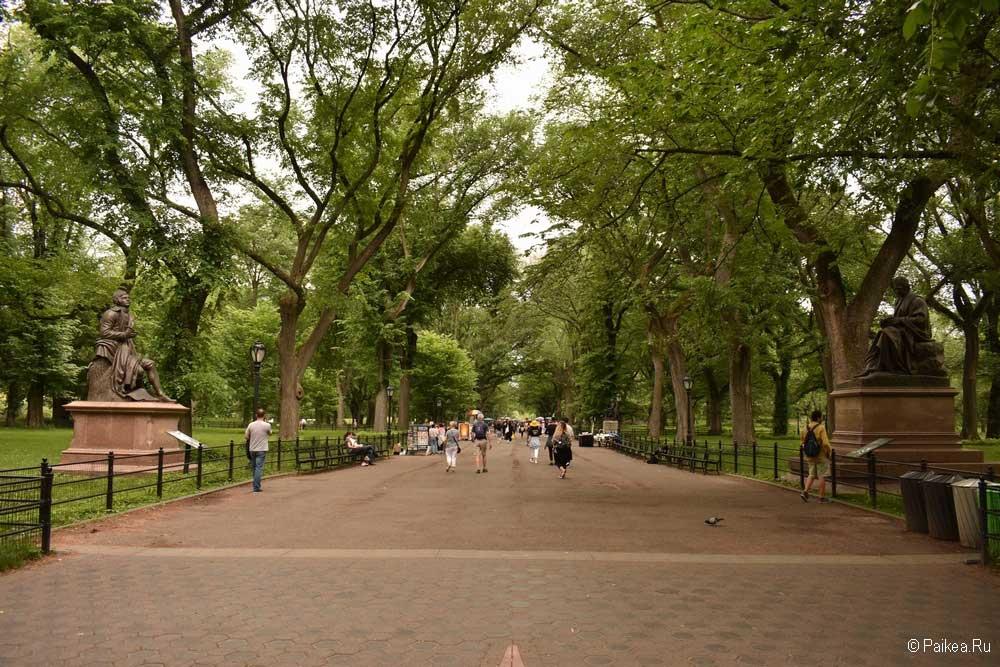 Достопримечательности Нью-Йорка в центре