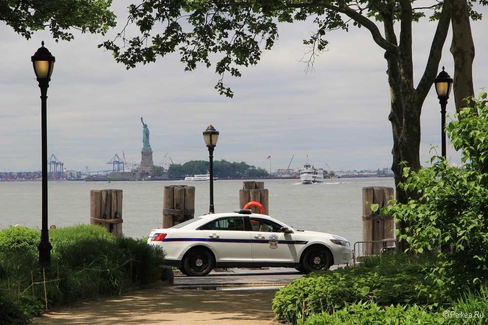 Достопримечательности Нью-Йорка Бэттери парк