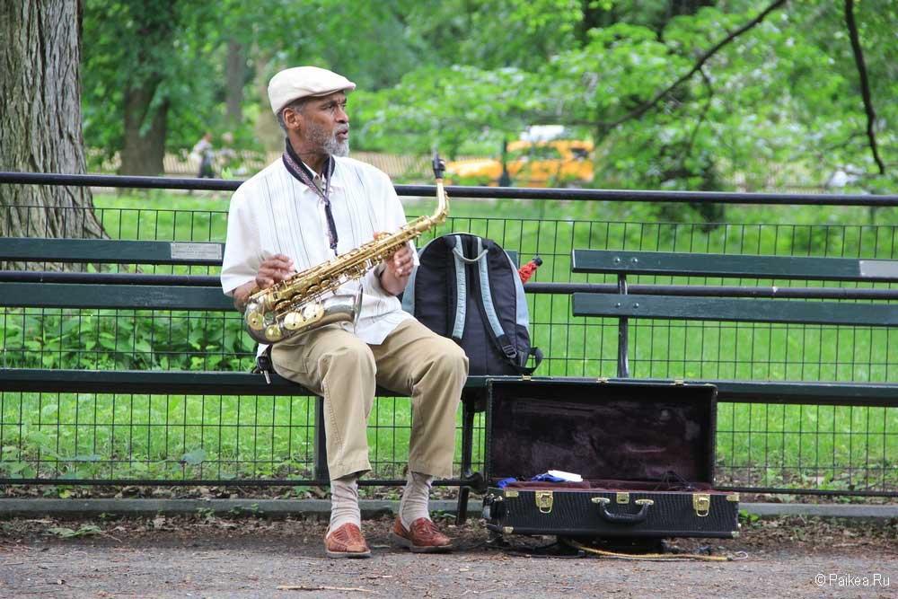 Достопримечательности Нью-Йорка парк