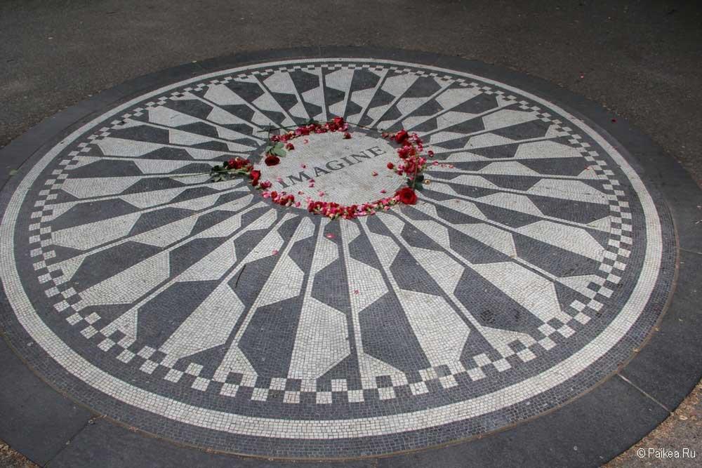 Достопримечательности Нью-Йорка Джон Леннон