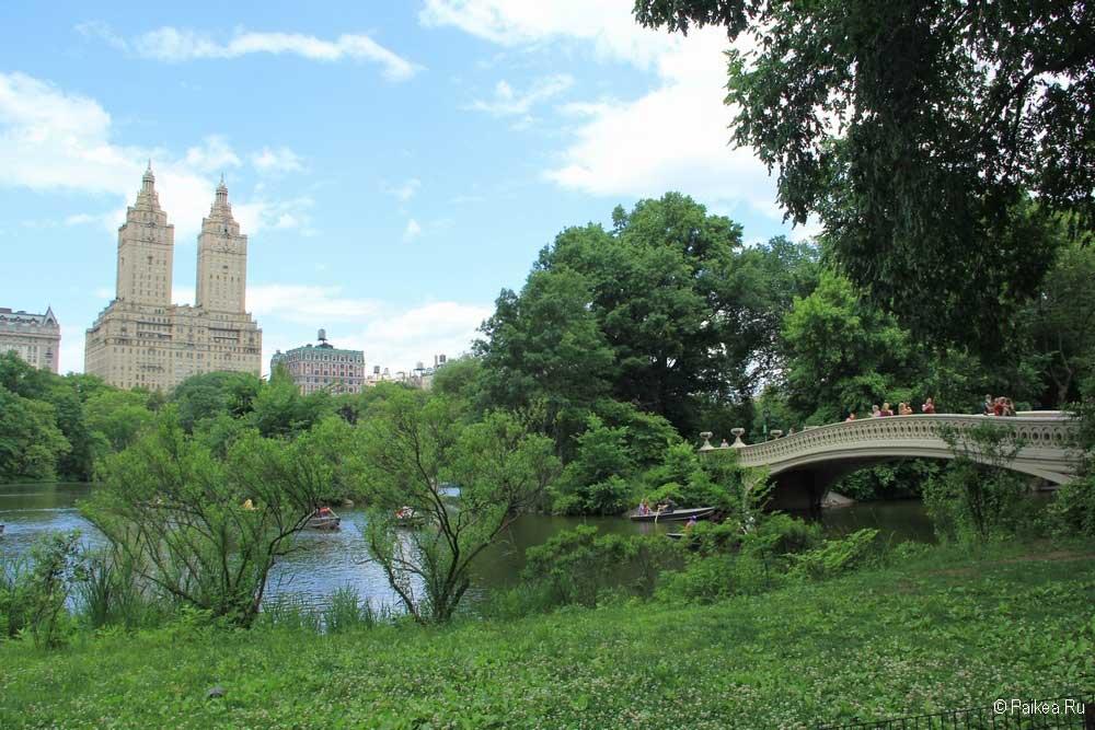 Достопримечательности Нью-Йорка Центральный парк