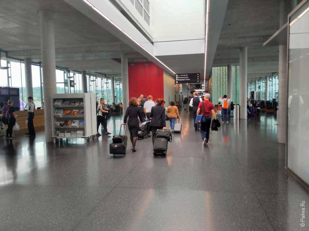 аэропорт цюриха транзит