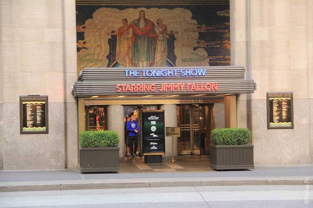 Шоу в Нью-Йорке