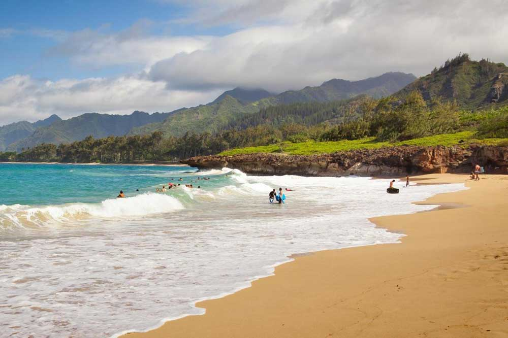 лучшие пляжи гавайи