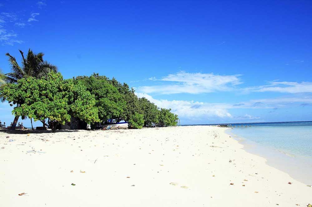мальдивы бикини пляж гули