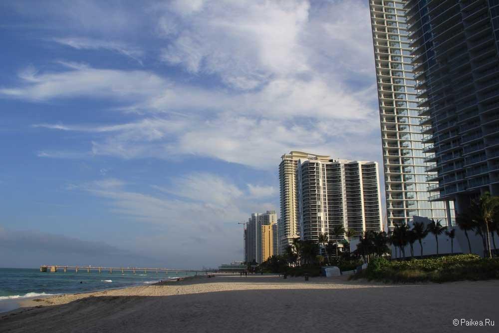 Майами лучший пляж