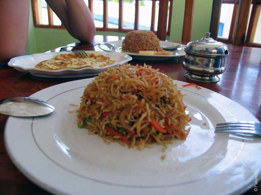 Мальдивы безопасная еда