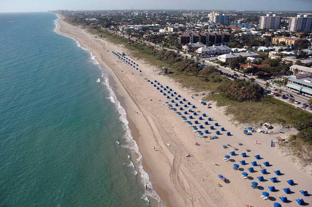 делрей бич фото пляжа