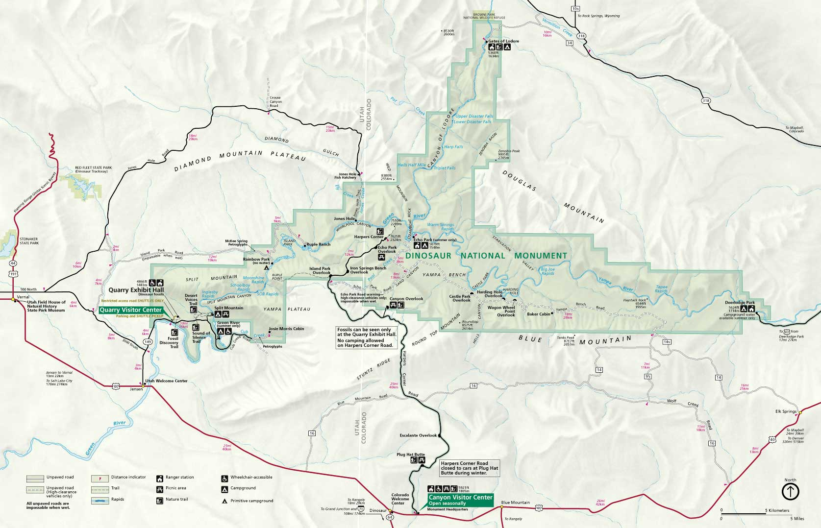 Карта парка Динозавр
