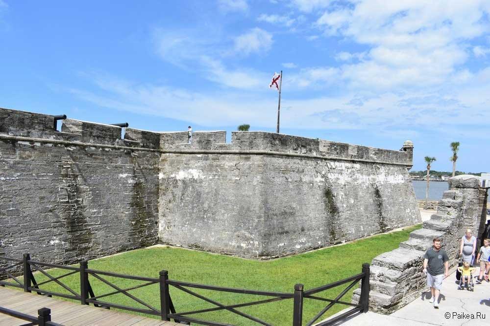 Кастильо де Сан-Маркос стены