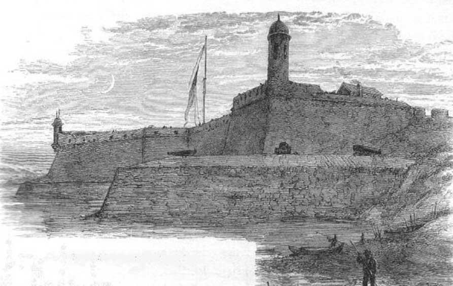Castillo-de-San-Marcos рисунок