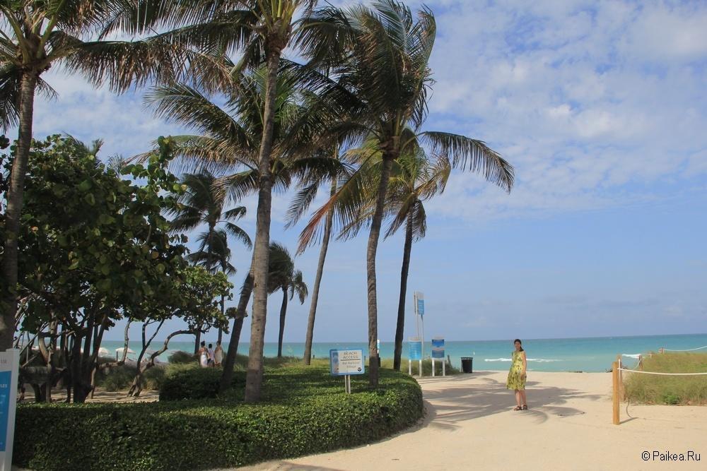 Достопримечательности Флориды - Пляж Ламмас Парк Бич в Майами