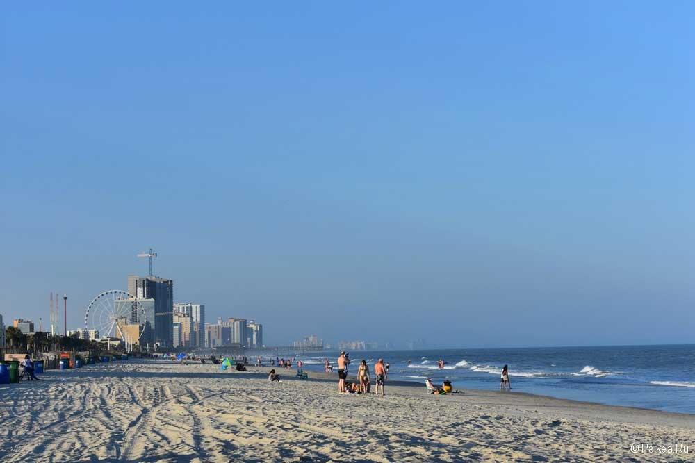 Миртл-Бич пляж фото