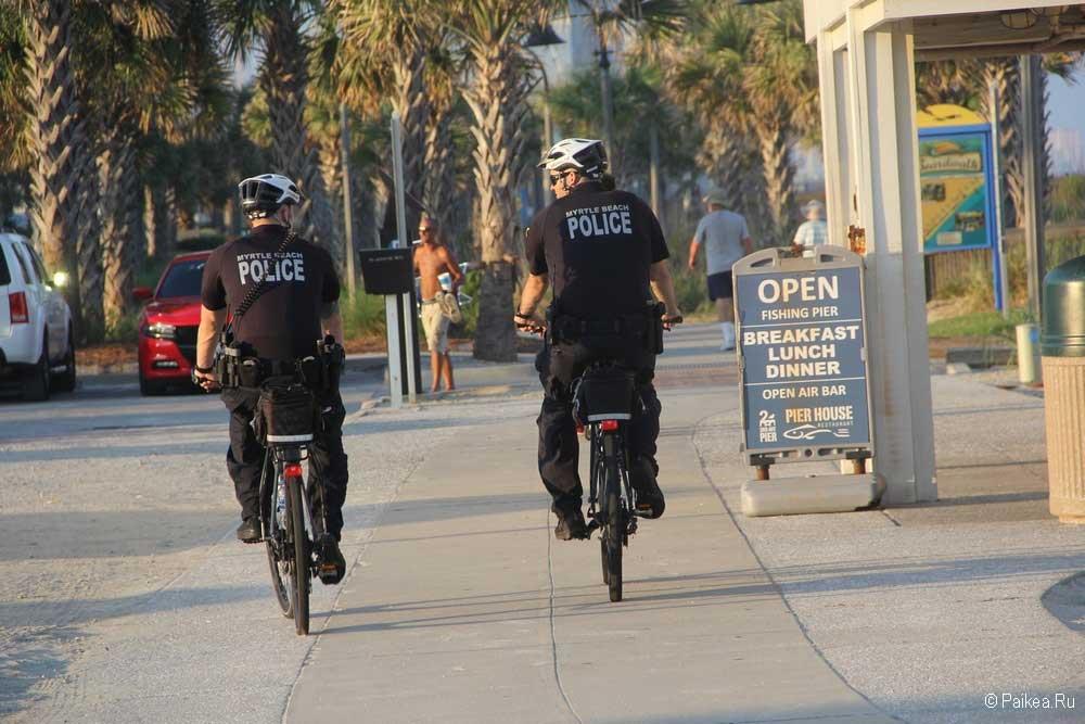 Миртл-Бич полиция
