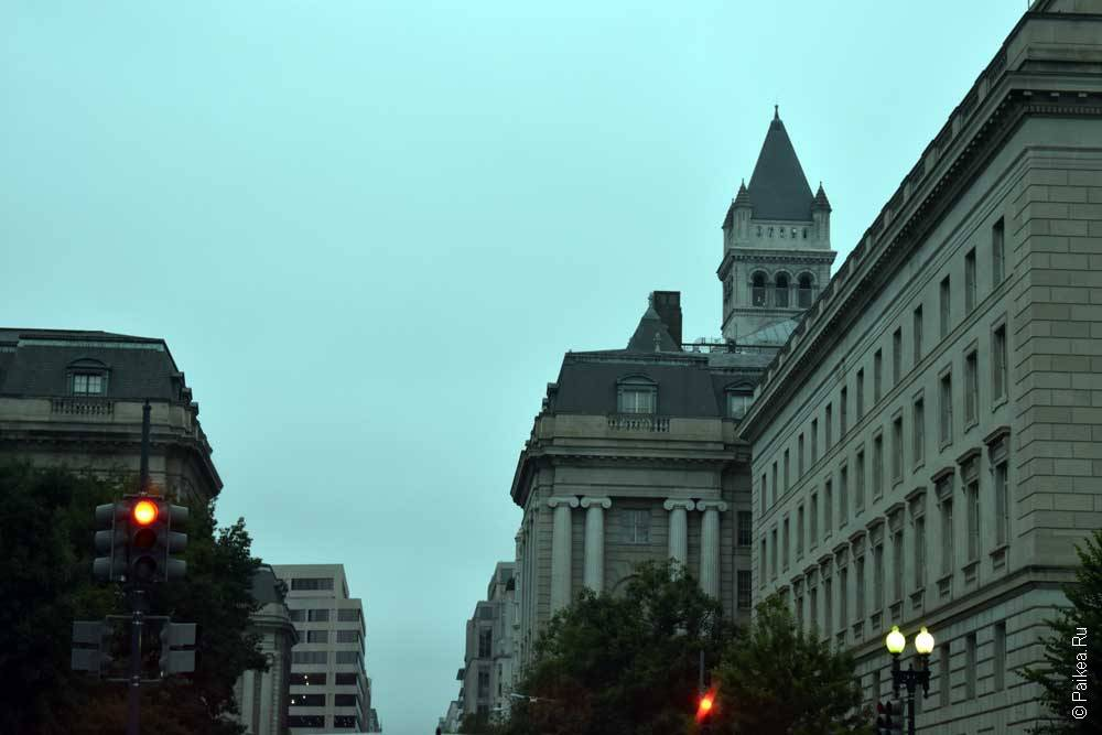 Вашингтон архитектура