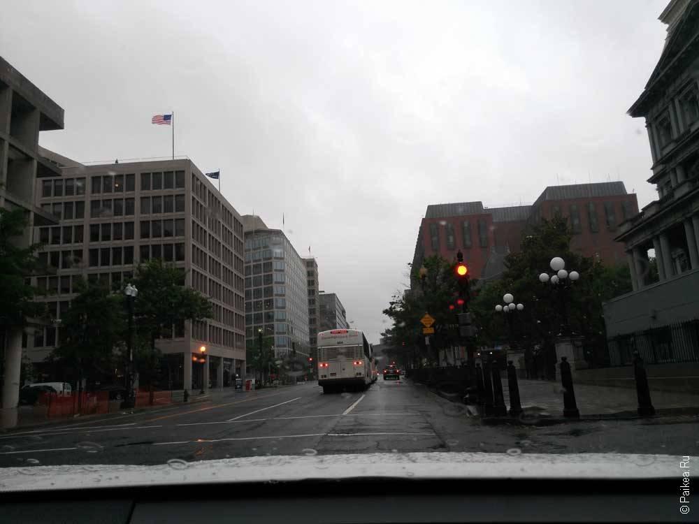 Вашингтон автобусы