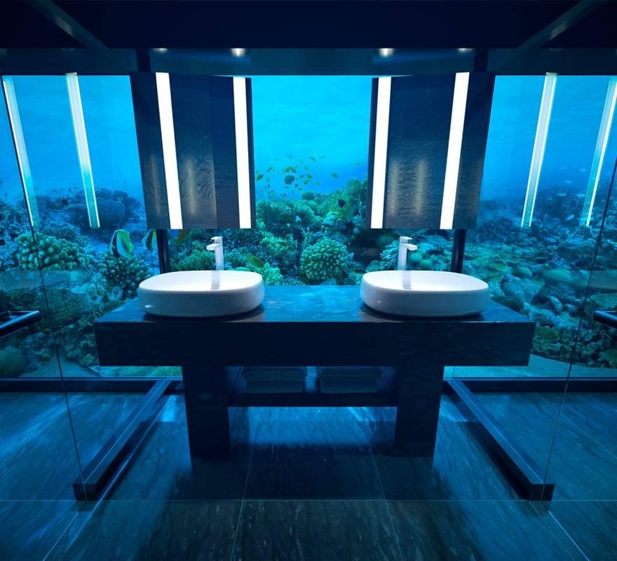 подводная резиденция