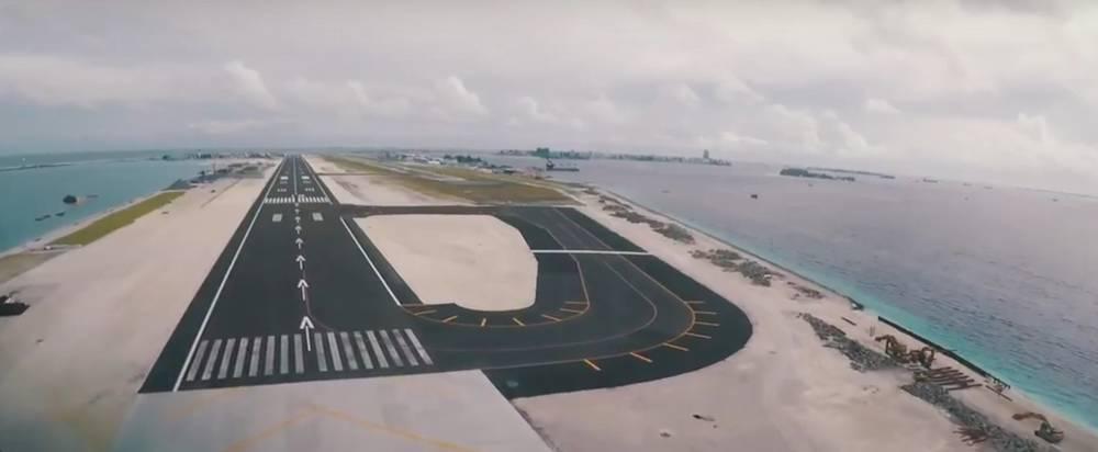 аэродром на Мальдивах