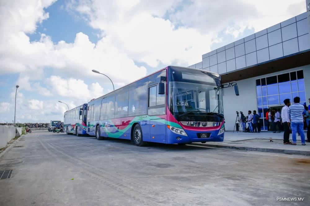 автобус в аэропорт мальдивы