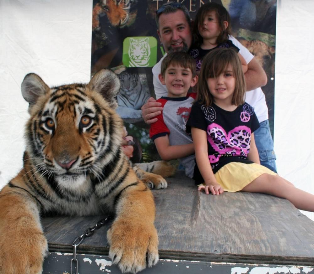 Флорида с детьми зоопарк