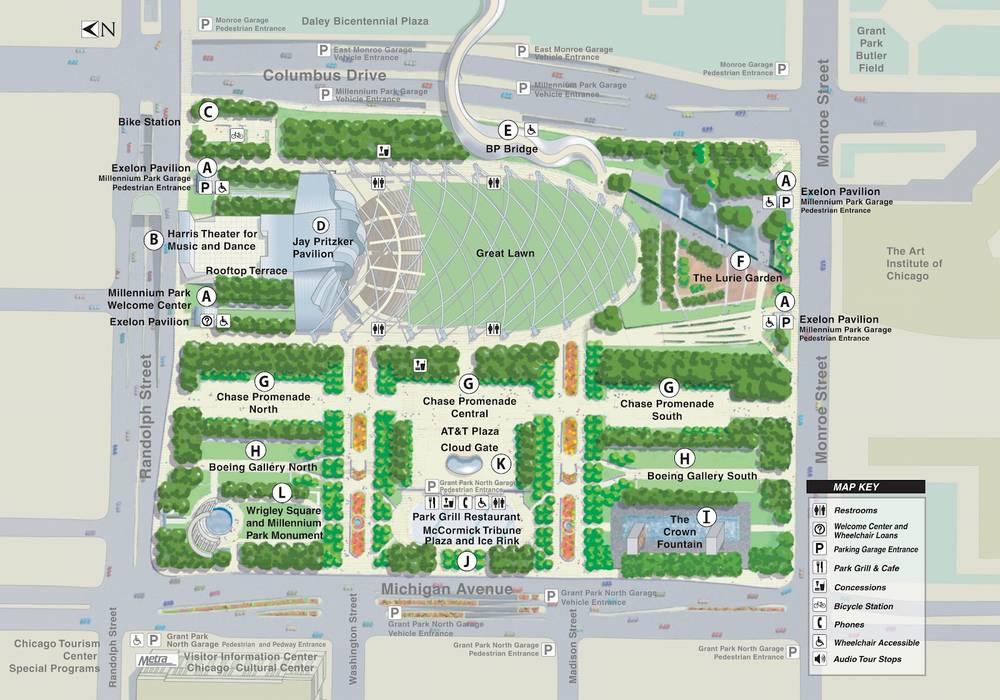 Чикаго Миллениум парк