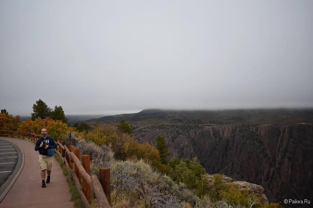 Черный каньон Ганнисона, Колорадо, США 02