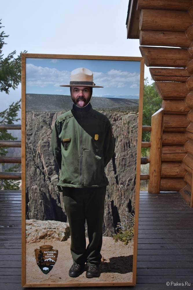 Черный каньон Ганнисона, Колорадо, США 03