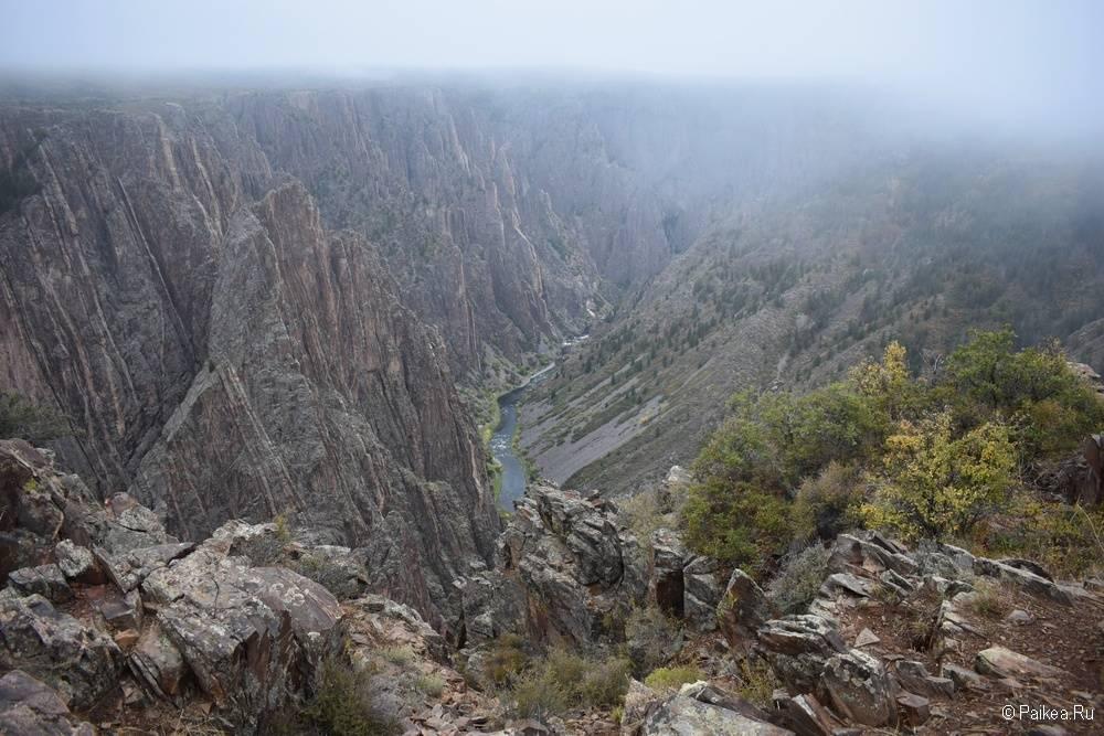 Черный каньон Ганнисона, Колорадо, США 04