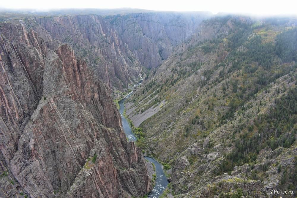 Черный каньон Ганнисона, Колорадо, США 05