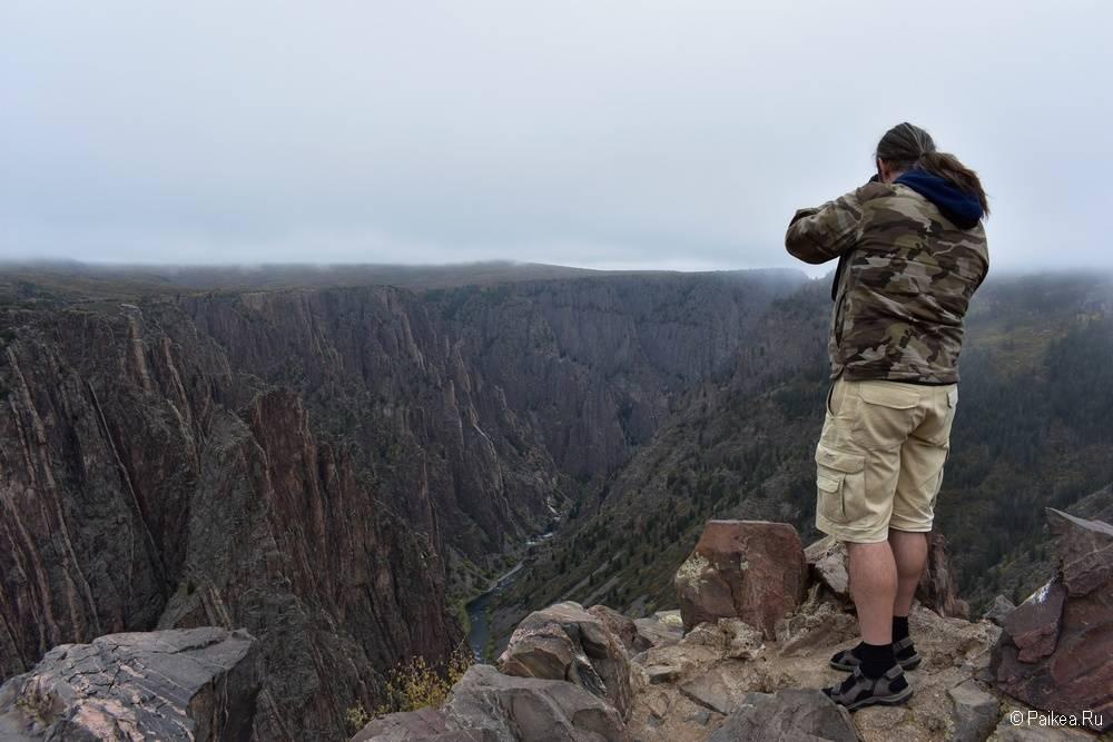 Черный каньон Ганнисона, Колорадо, США 06