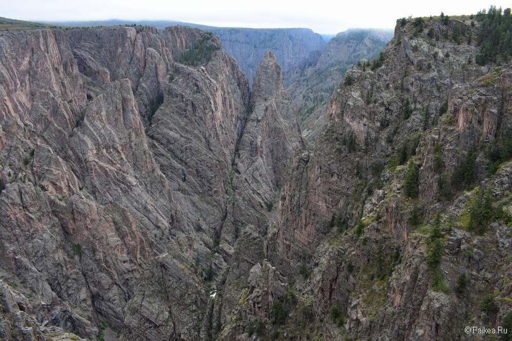 Черный каньон Ганнисона, Колорадо, США 08