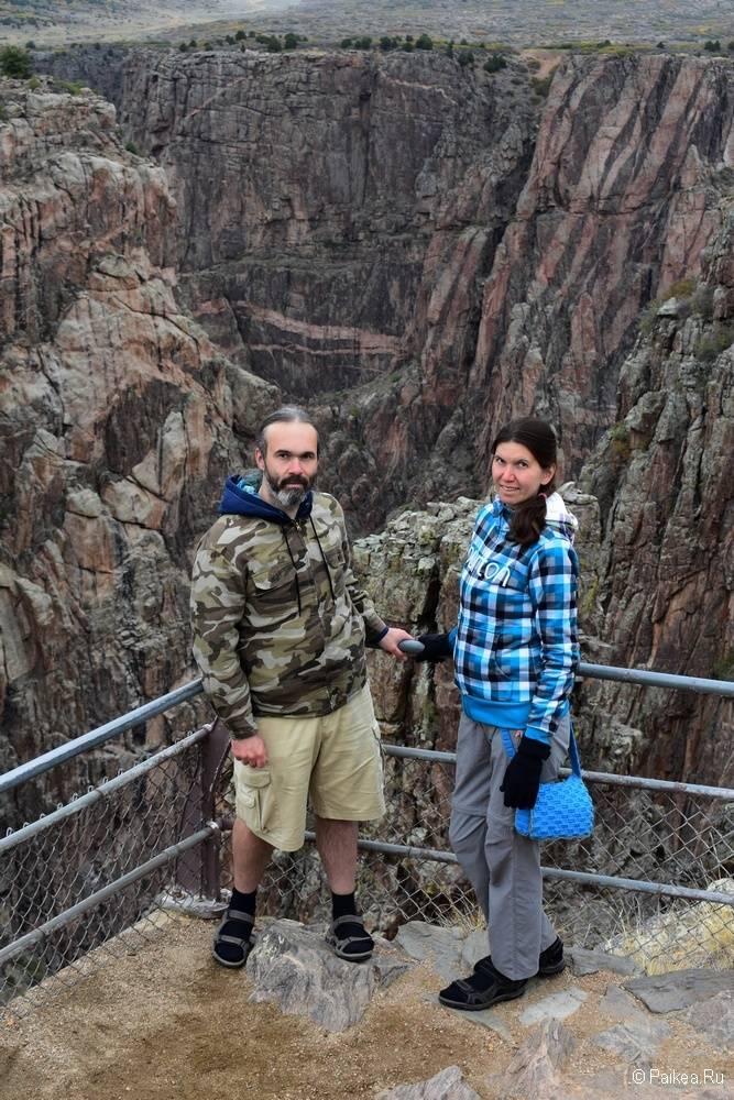 Черный каньон Ганнисона, Колорадо, США 10