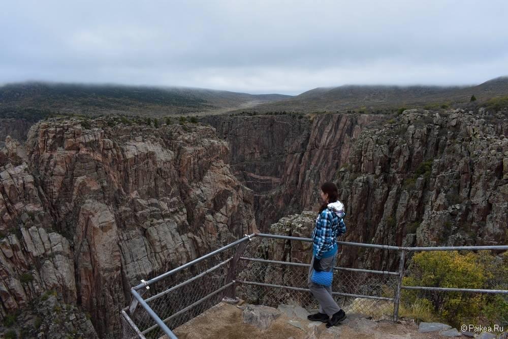 Черный каньон Ганнисона, Колорадо, США 11