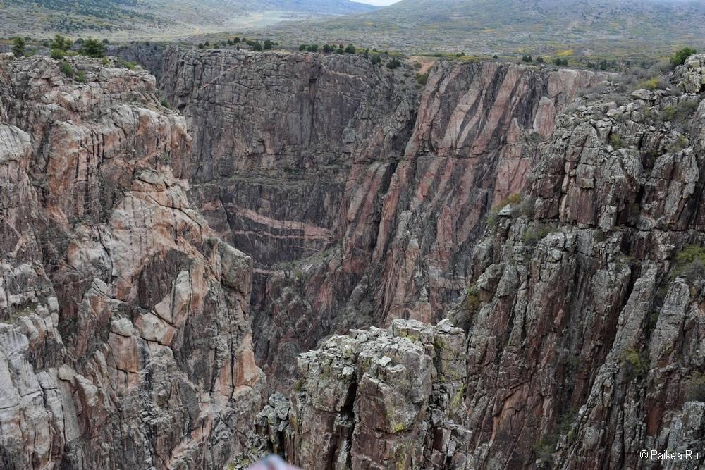 Черный каньон Ганнисона, Колорадо, США 12