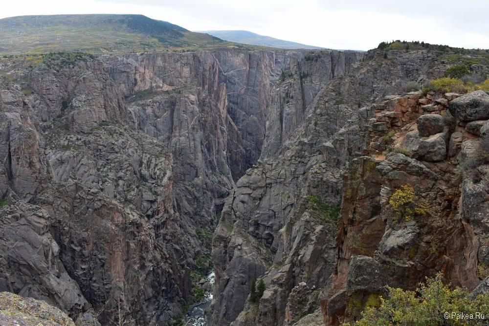 Черный каньон Ганнисона, Колорадо, США 13