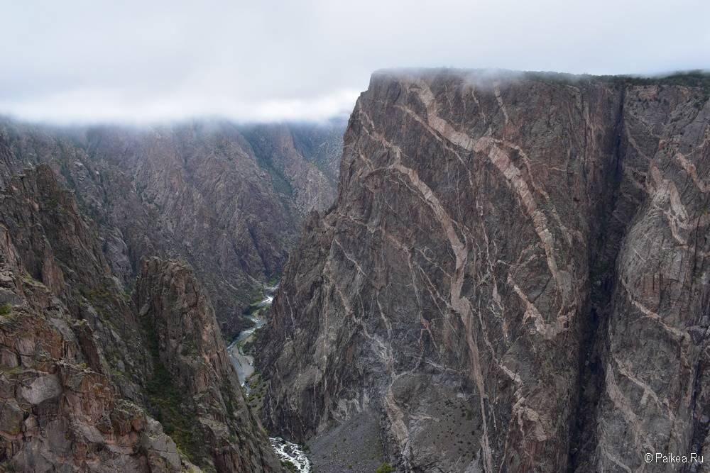 Черный каньон Ганнисона, Колорадо, США 14