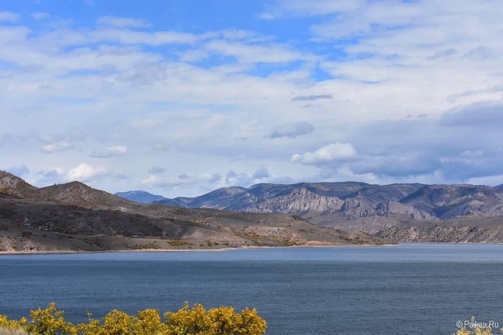 Черный каньон Ганнисона, Колорадо, США 16
